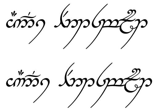Die Sprache der Elben kann erlernt werden (Bild von sindarin.de)