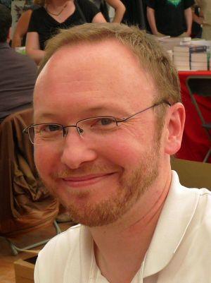 Weltenschöpfer Pierre Grimbert nutzt viele Sprachen (Bild von Ji-Elle)