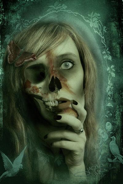 ... bei dieser Corpse-Bride... (Bild von Jaded Ink)