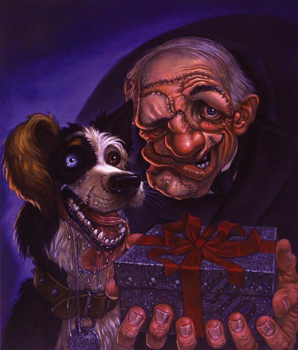 Ein Hund (links) und ein Igor (rechts) (Bild von discworld.soup.io)