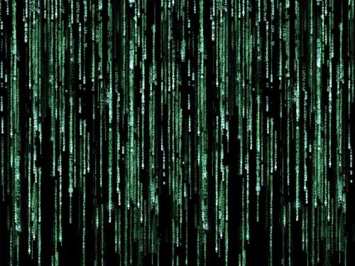 Die Matrix -- eine Welt aus einem Computer (Bild von Daniel Prichard)