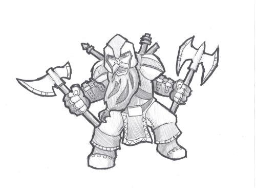 Orik - späterer König der Zwerge (Bild von 4elementGURU)