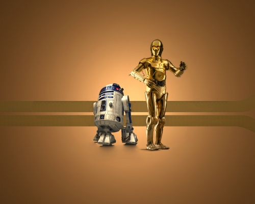 Die bekannten Droiden aus Star Wars (Bild von 1darthvader)