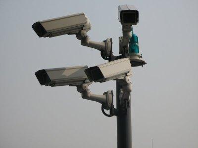 Eine Überwachungskamera stellt keine Schwierigkeit dar (Bild von prophets10)