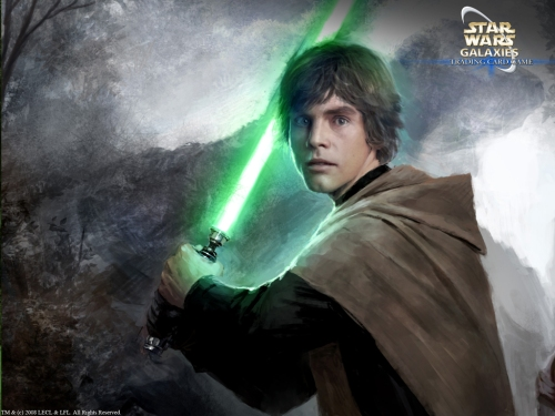 Luke ist der elternlose Held in Star Wars (Bild von wraithdt)