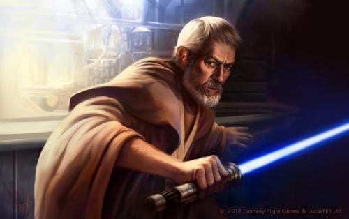 Obi Wan Kenobi ist Mentor und war schon der seines Vaters (Bild von AnthonyFoti)