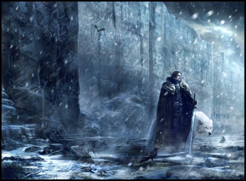 Jon Schnee im hohen Norden (Bild von jamga)