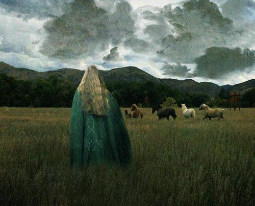 Eowin von Rohan - der Inbegriff der ungestümen Kriegerin (Bild von Ajraan)