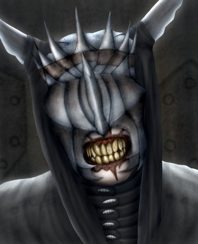 Saurons Mund - Saurons rechte Hand (Bild von Sappel)