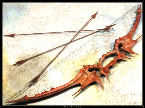 Der Bogen kann sicher was mit Feuer! (Bild von GypsFulus)