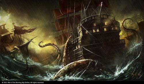 Omnomnom! Schiffe! (Bild von bpsola)
