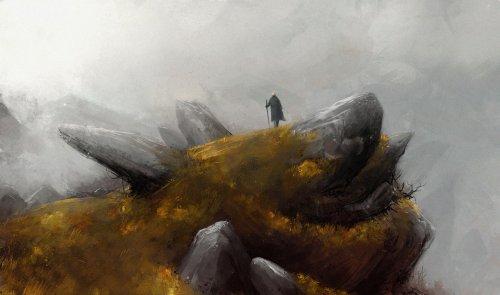 Der Wanderer auf seinen Reisen (Bild von Marcodalidingo)
