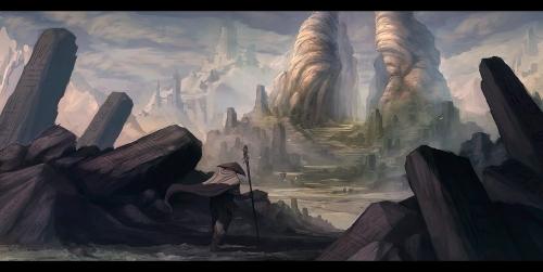 Der Wanderer zieht von dannen (Bild von mrNepa)