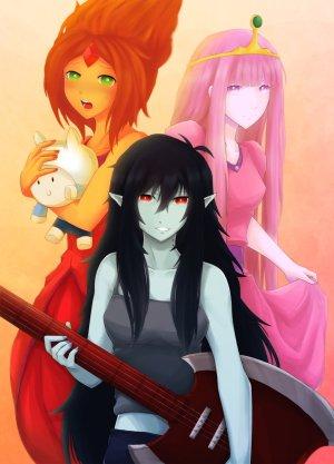 Die drei Haupt-Damen der Serie (Bild von I3ushidoKuroi)