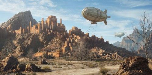 Ein Ork-Stadt (Bild von Dylan-Cole)