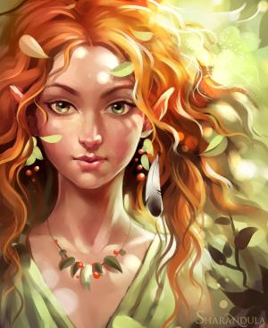 Eine Wald- oder Sommer-Elfe (Bild von Sharandula)