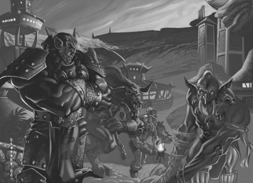 Wandernde Orks (Bld von chriss2d)