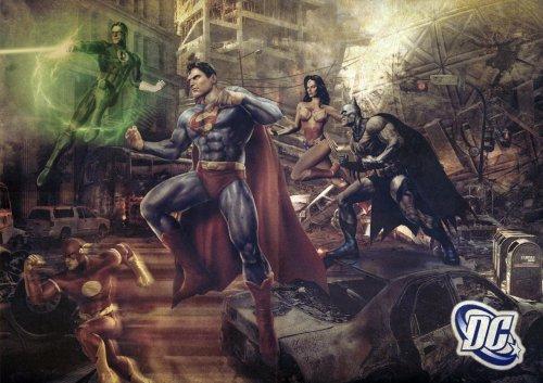 Bei den Justice League ist auch fast alles vertreten (Bild von Tomzj1)