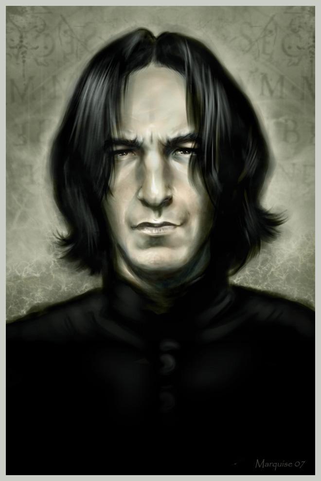 Snape. Snape. Severus Snape. (Bild von G672)