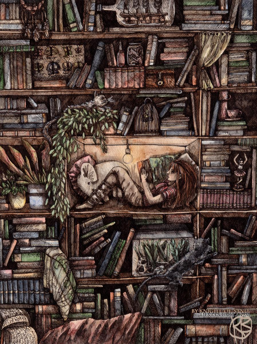 Ich wünscht, ich hätte so eine Bibliothek... (Bild von kinght-of-sand)